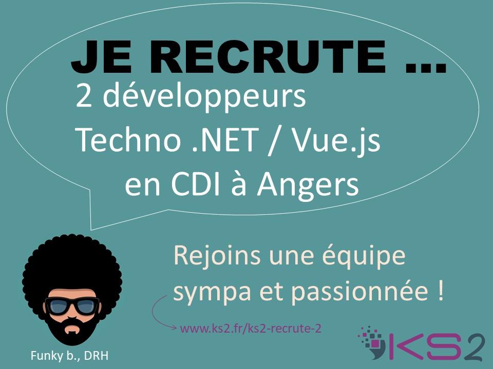 KS2 recrute des développeurs
